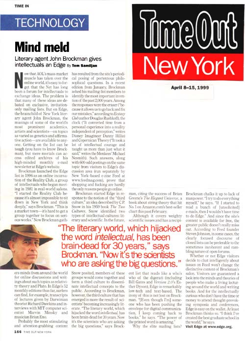 Time Out New York - April 8 ...